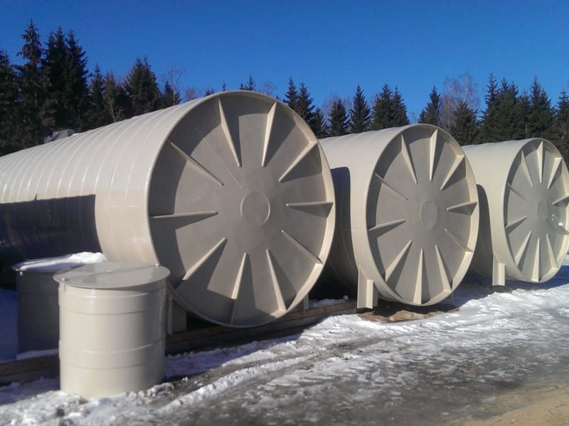 Capacity tanks