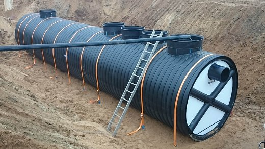 Stormwater purification stations