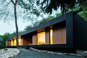 современный коттедж, новая архитектура